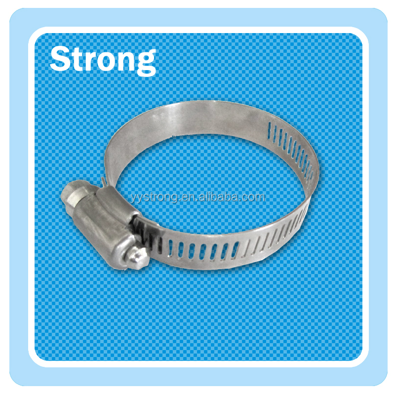 American type hose clamp USA type hose clamp hose clip warm drive gear clamp available in SS and carbon steel