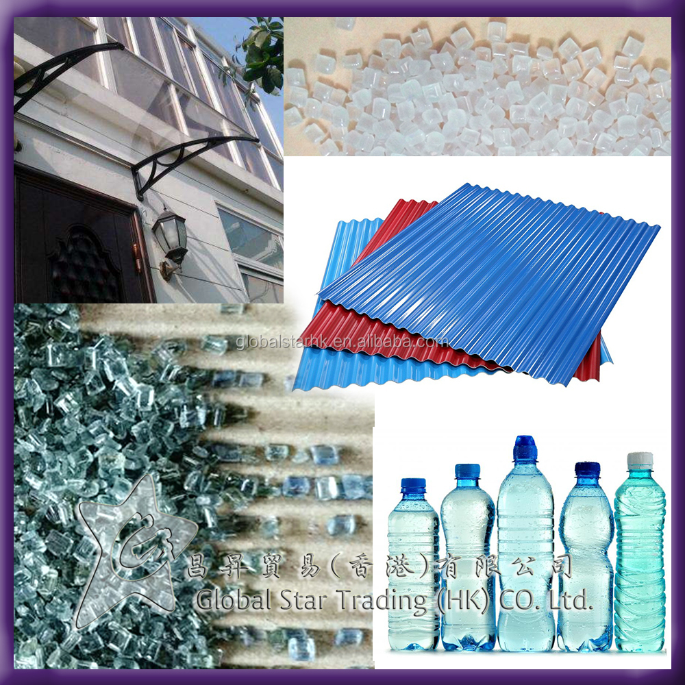 Polycarbonate Granules Factory Extrusion PC Plastic Raw Material