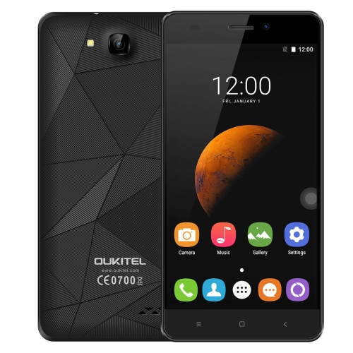 Low Price Chinese free Sample OUKITEL C3 5.0inch Android 6.0 MT6580 Quad Core Unlocked Phone with 3D Diamond Designed Back Cover