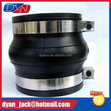 DN50mm-DN2000mm clamp pipe joints Convenient pipe connection