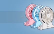 Portable rechargeable USB mini spray moisture retaining fan