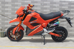 1500W double disc brake cool electric motorcycle with super power
