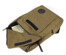 Hot New Promotional Recyclable Canvas Rucksack Outlander Backpack Bag