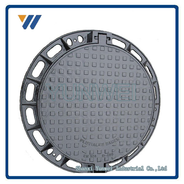ISO9001 Top Quality Precision Manhole Covers 700X700