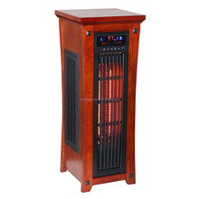 Portable 1500-Watt Electric Infrared Quartz Tower Heater / Fan / Eco Freestanding with Remote Control
