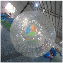 2016 Aier Go play crazy inflatable zorb ball on the grass/water/land/snow zorbing New Zealand