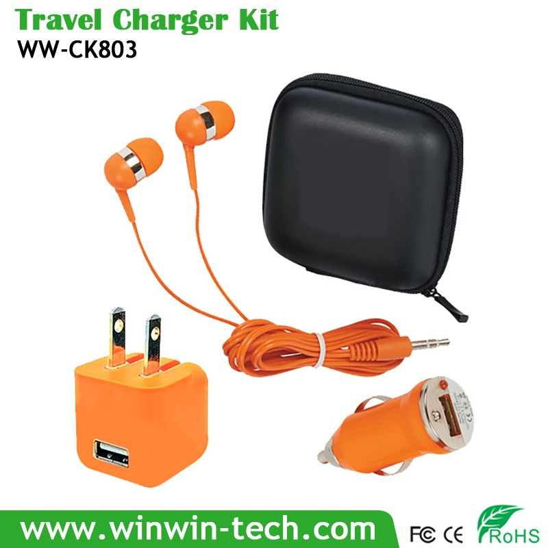 for iphone 5 travel charger kit