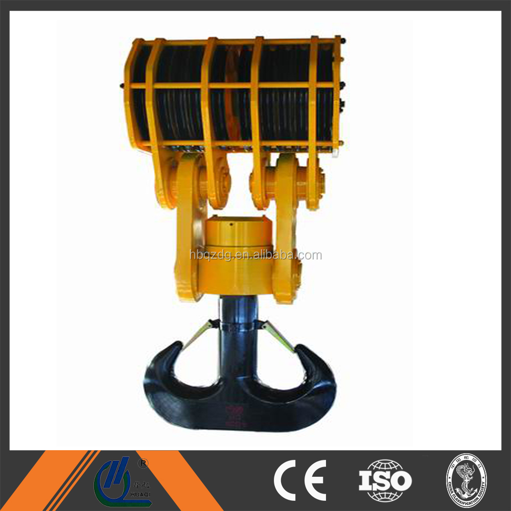 Crane spare parts lifting hook block -high quality