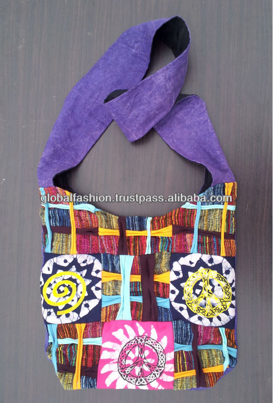 Cotton Canvas Shoulder Bags with OEM/ODM