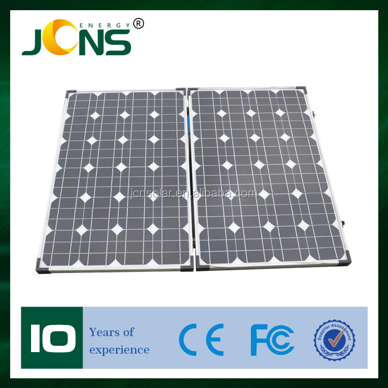 OEM monocrystalline foldable solar panel price india --- Factory direct sale