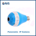 2016 Excellent Quality Wireless Hidden Bulb Panoramic IP Camera For Home Security