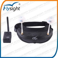 B741 For RC Fiberglass RC Jet x125 Quadcopter Flying 5.8Ghz 32ch Dual Goggles With micro Camera