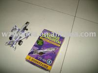 (2010 fty supplier) paper toy diy plane