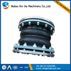 double sphere rubber bellows with flange