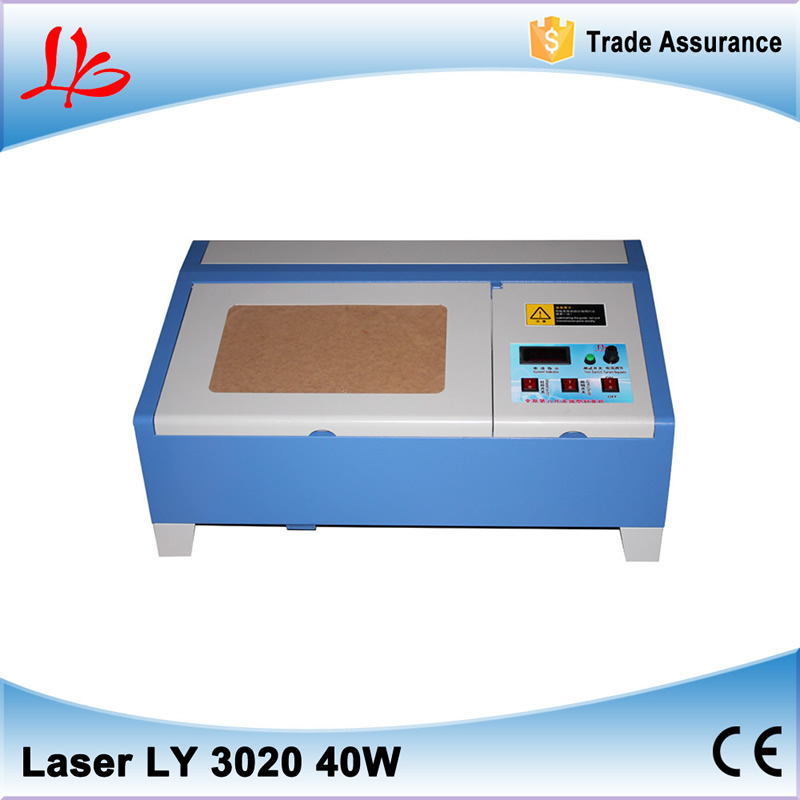 mini laser engraving machine 3020 Co2 with digital function and bigger honeycomb