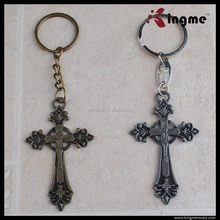 Manufacture new style christian keychain gift