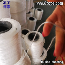 Economic Nylon twine 210D and Reliable white braided nylon line Used to knit nylon rope
