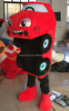 HI CE wholesale custom adult car mascot costume,cartoon character car costume