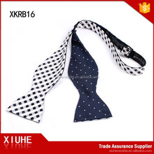 Wholesale Latest Fashion Cheap High Quality Double Side Self Tie Bow Ties