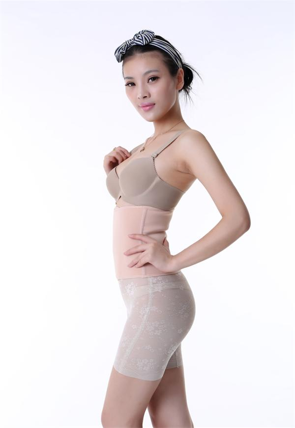 Elegant Sexy Women Girdle Shaperwear Nude Color Girdles And Body Shapers