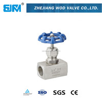 SS316 Needle Valves 1500psi High Pressure