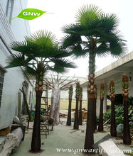 GNW APM018 Make Artificial Palm Tree Fan coconut Palm trees Park Garden Landscaping