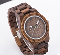 Japan movt watch sr626sw price,100% natural fashion wrist watch waterproof wood watch