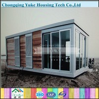 China Yuke Beautiful Designs Low Price Prefab Modular Movable Houses for Sale
