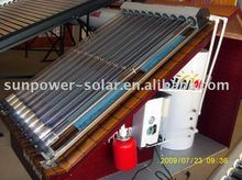 separated solar water heater heat pipe
