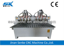 8 Italy HDS watercooling spindles ,wood cnc router furniture making machine