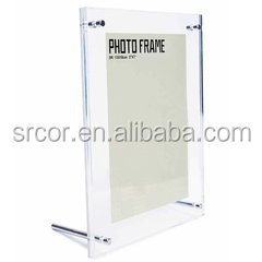 6 Clear acrylic 5 x 7 sign display holder islamic picture wall frame