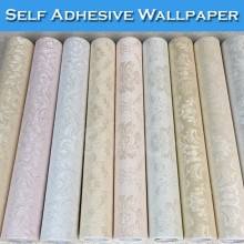 SINO Interior 3D Self Adhesive Vinyl Simple Wallpaper For Bathroom