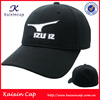 Black embroidery hat baseball cap, sport fashion hat and caps