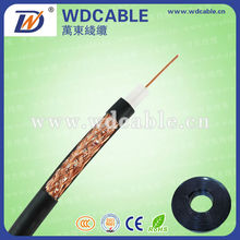 High quality 75 ohm/50 ohm copper core coaxial cable rg6/rg59/rg58 for TV