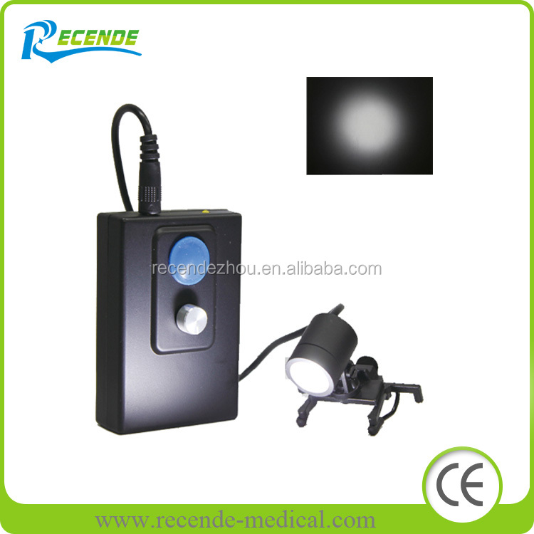 dental LED head light for Dental surgical binocular loupes