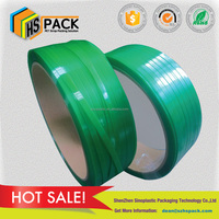 high quality PET strapping band plastic strapping for band with Kraft paper core