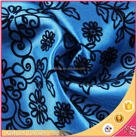 China supplier Cheap price flocking Printed undergarment fabric