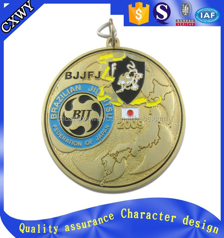 Custom sports cheap metal medals with your desgin logo medals 2015