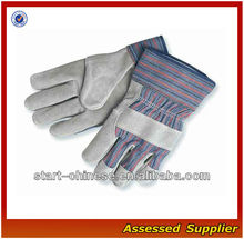 CLW72 Do Heavy-Duty Work With Standard Leather Palm Work Gloves With Safety Cuff