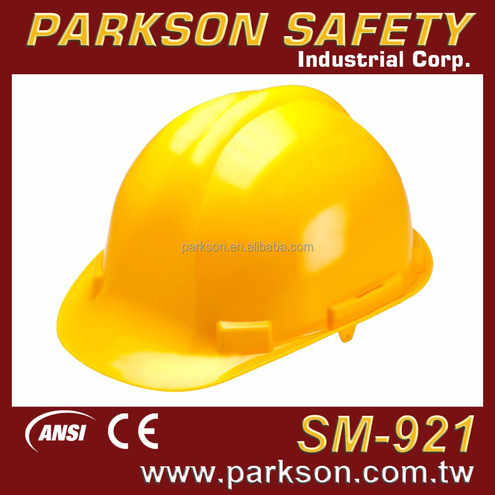 Taiwan Most Safety Traditional Lightweight Comfortable Working Platform Safety Hard Hat ANSI Z89.1 CE EN397 SM-921