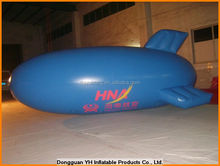 giant 6m inflatable helium airship, advertising blimp