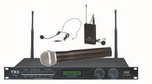 TKC BT-820B UHF 32-Channels Wireless Headset Conference Microphone