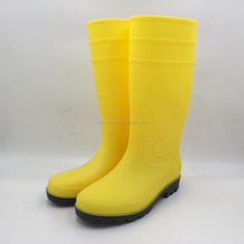HN310 Factory price PVC gum boots men work safety rain boots