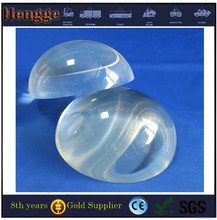 hole color and clear glass sphere/PMMA color ball with hole