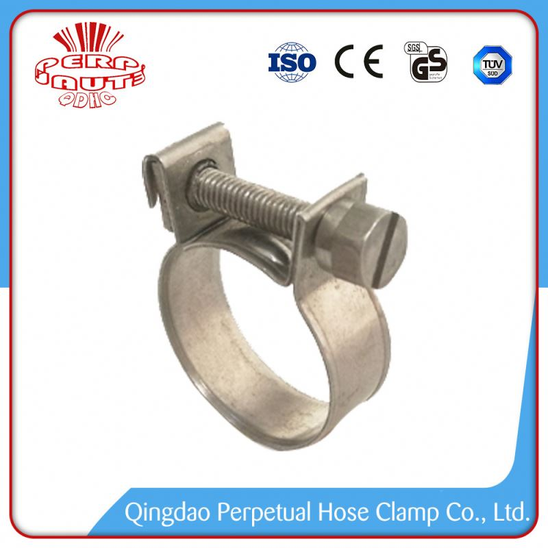 Top Quality mini steel hose clamps fitting