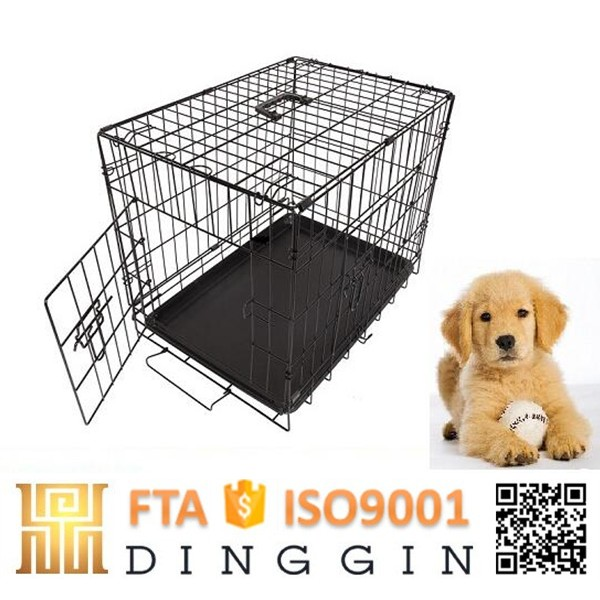 Wire dog kennel buildings