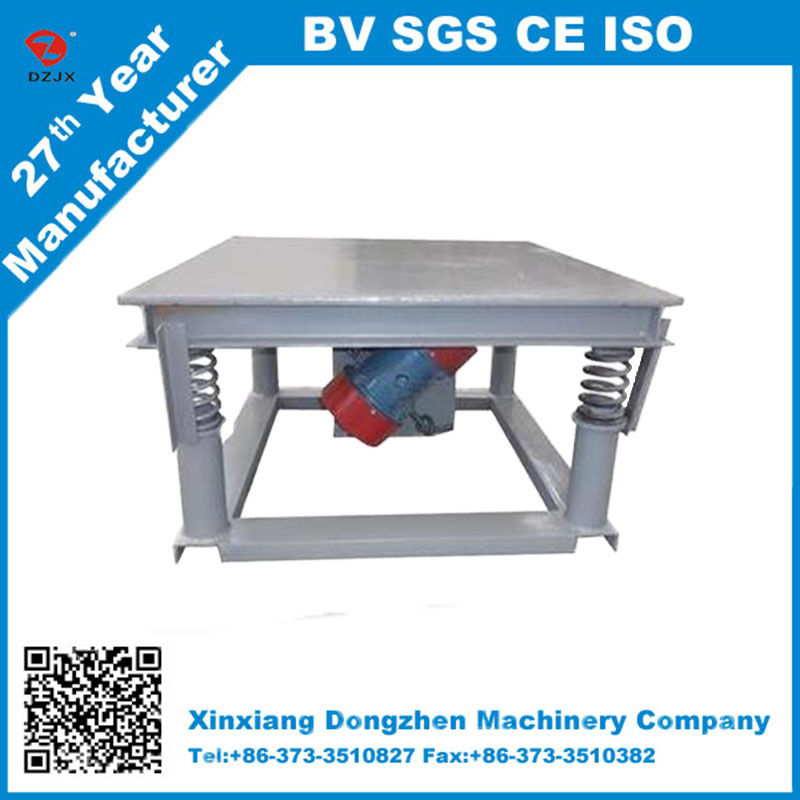 construction industry paver vibrator table for concrete