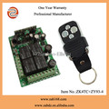 ZK4TC+ZY93-4,universal use,4CH remote control,Learning code,AC12-35V