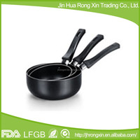 Non-stick coating shallow cooking stock pot