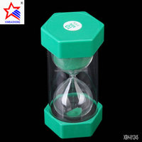 New Products 2016 Decoration Home Custom Plastic Hourglass Sand Timer For Children
